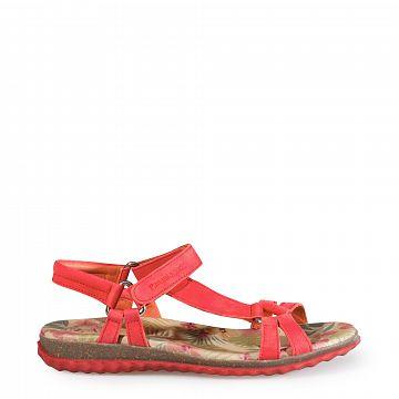 Caribel Rojo Nobuck Mujer Calzado