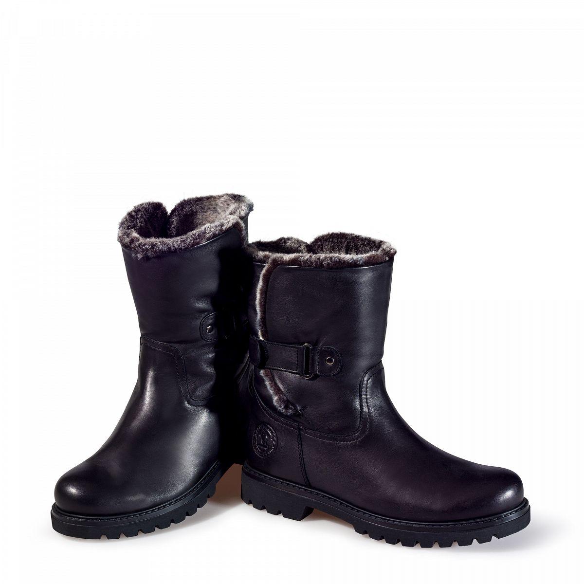 women 39 s boots felia black panama jack official store. Black Bedroom Furniture Sets. Home Design Ideas