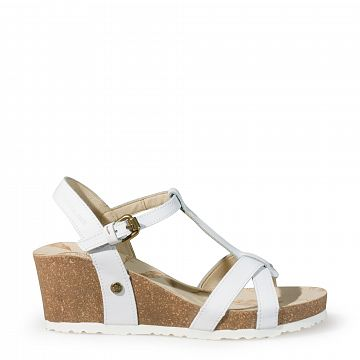 Janela Blanco Napa Tecno Mujer Calzado