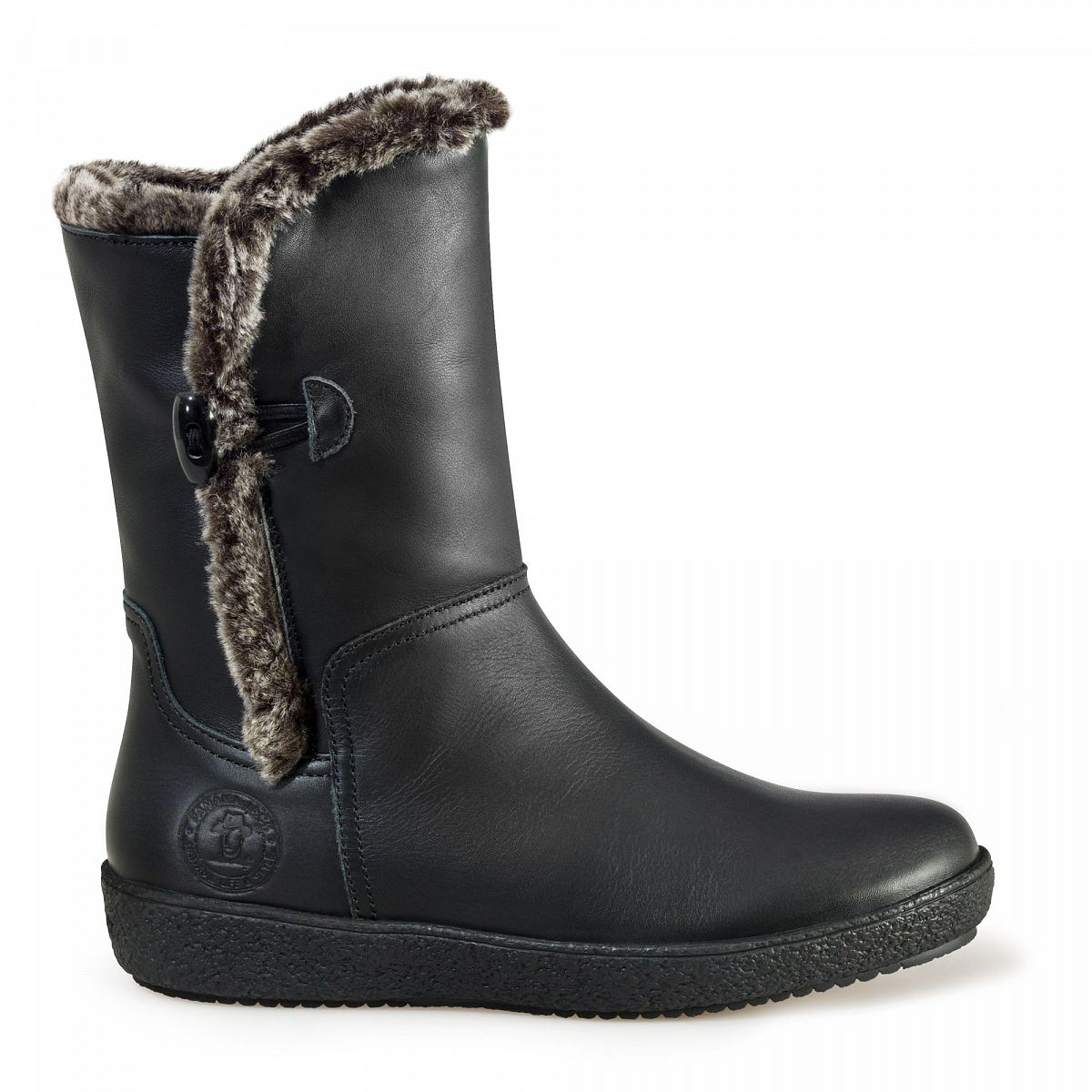 Perfect Womens Panama Jack Fur Lined Waterproof Mirabella Bark Boots