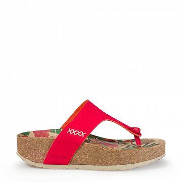 Quinoa Rojo Nobuck Mujer Calzado