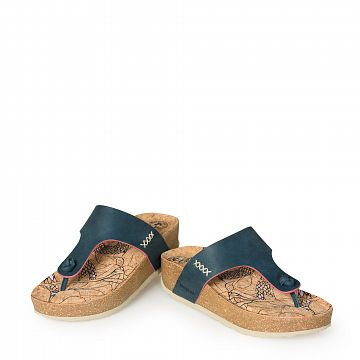 Quinoa Azul Nobuck Mujer Calzado