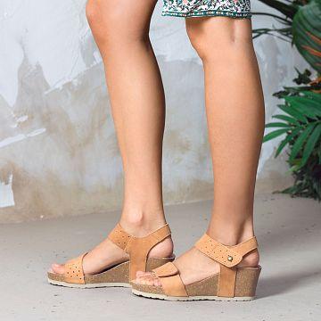 Panama Jack Victoria Cuero Nobuck Mujer Calzado