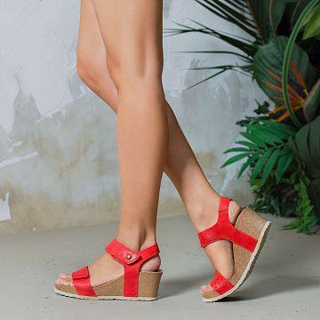 Victoria Rojo Napa Grass Mujer Calzado